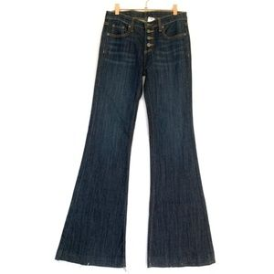 LF Carmar Jeans Bell Bottoms Exposed Button Fly 25